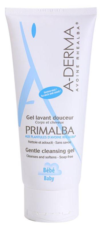 A-Derma Primalba Baby champú y gel de ducha 2 en 1 para niños