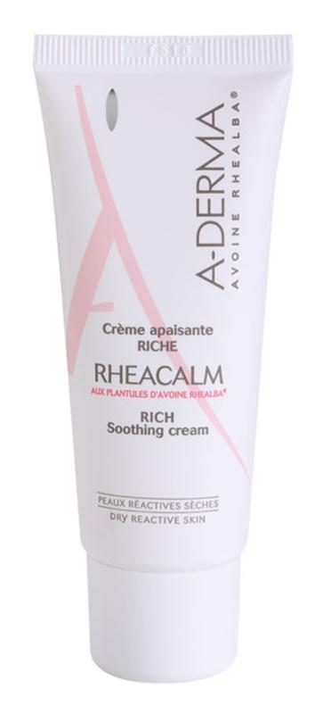 A-Derma Rheacalm crema nutriente lenitiva per pelli secche