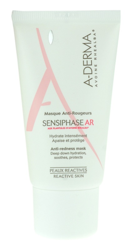 A-Derma Sensiphase AR Mask for Sensitive, Redness-Prone Skin