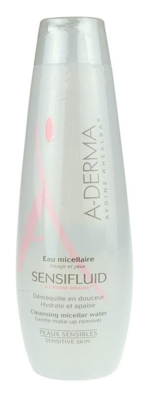A-Derma Sensifluid почистваща мицеларна вода за чувствителна кожа на лицето