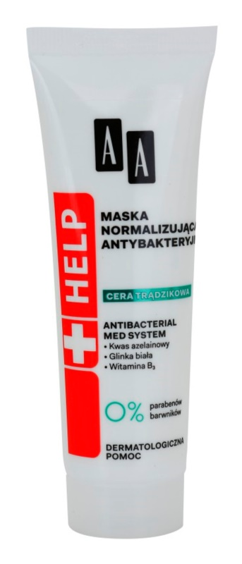 AA Cosmetics Help Acne Skin нормализираща маска
