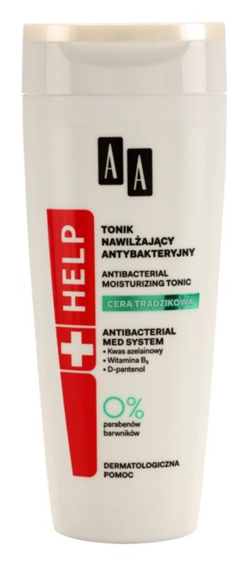 AA Cosmetics Help Acne Skin hidratáló tonik a problémás bőrre