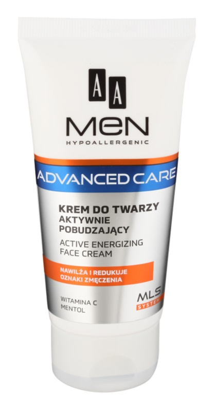 AA Cosmetics Men Advanced Care energizujúci krém na tvár