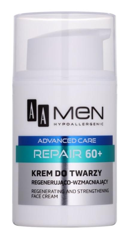 AA Cosmetics Men Advanced Care erneuernde regenerierende Gesichtscreme 60+