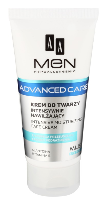 AA Cosmetics Men Advanced Care intensive, hydratisierende Creme für das Gesicht