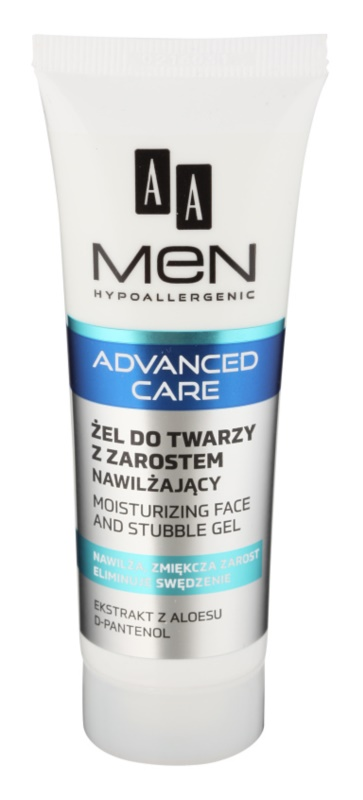 AA Cosmetics Men Advanced Care Moisturising and Soothing Gel for Face and Beard