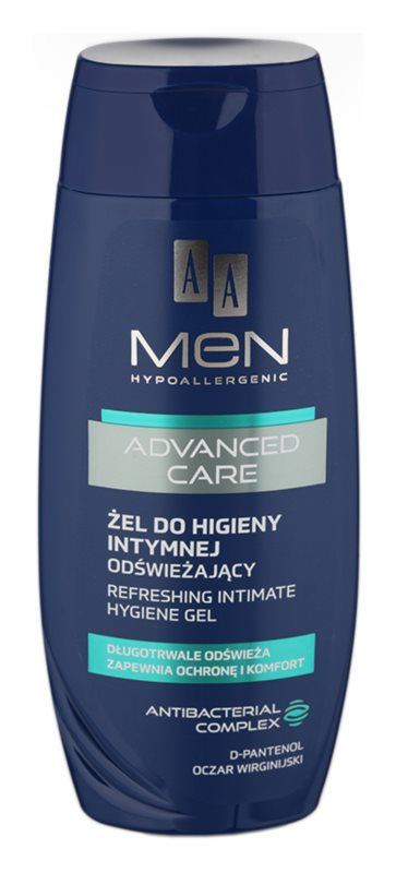 AA Cosmetics Men Advanced Care intim higiéniás frissítő gél