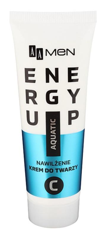 AA Cosmetics Men Energy Up intenzív hidratáló és revitalizáló krém az arcra