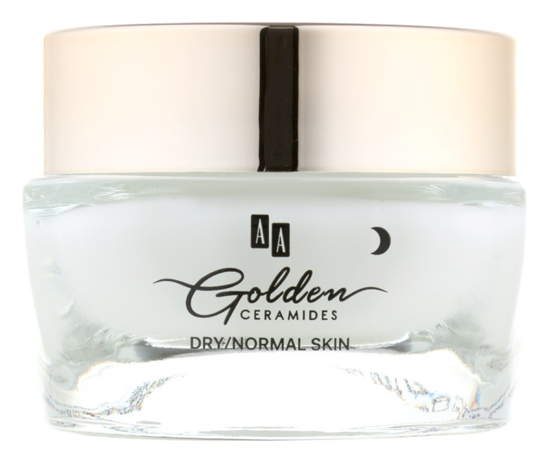AA Cosmetics Golden Ceramides Intensive Night Cream Regenerative Effect
