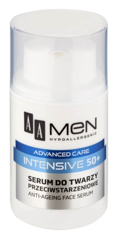 AA Cosmetics Men Intensive 50+ Ser anti-imbatranire