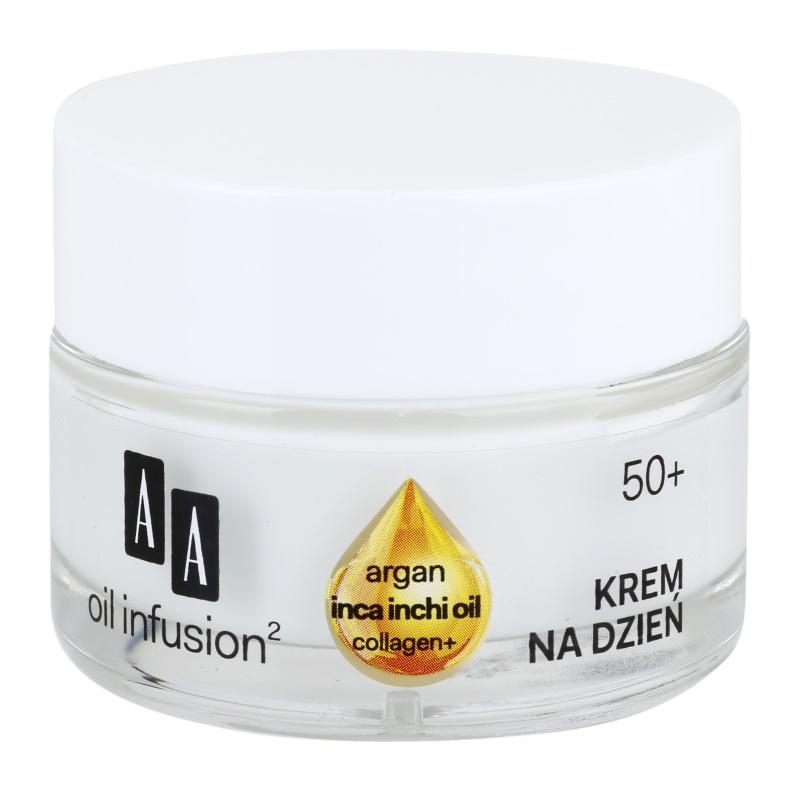 AA Cosmetics Oil Infusion2 Argan Inca Inchi 50+ Straffende Tagescreme gegen Falten