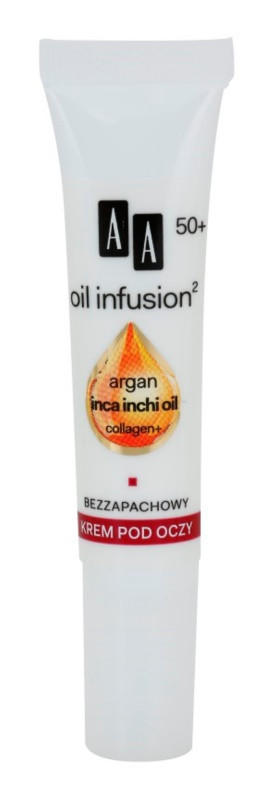 AA Cosmetics Oil Infusion2 Argan Inca Inchi 50+ Restoring Cream for Eye Area