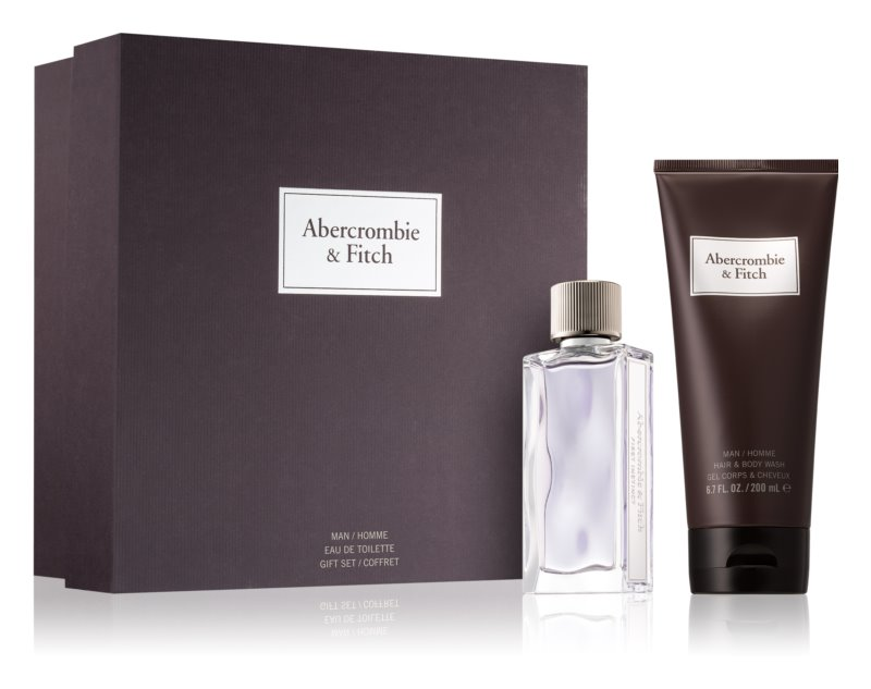 Abercrombie & Fitch First Instinct Gift Set  II. (voor Mannen )