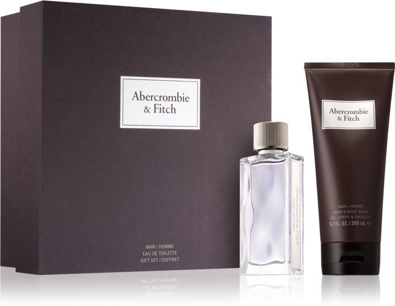 Abercrombie & Fitch First Instinct подаръчен комплект II. (за мъже)