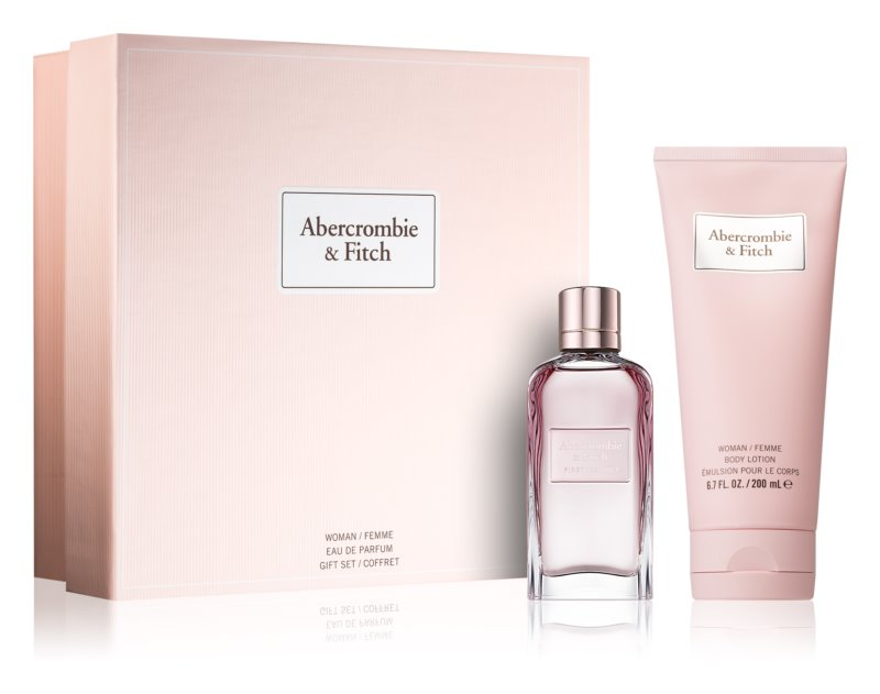Abercrombie & Fitch First Instinct Gift Set  IV. (voor Vrouwen )