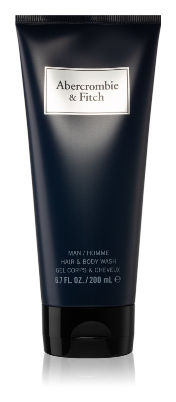 Abercrombie & Fitch First Instinct Blue Shower Gel for Men 200 ml
