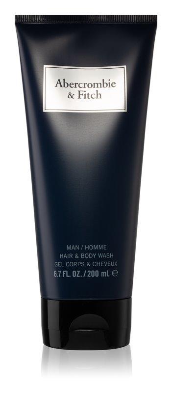 Abercrombie & Fitch First Instinct Blue sprchový gel pro muže 200 ml