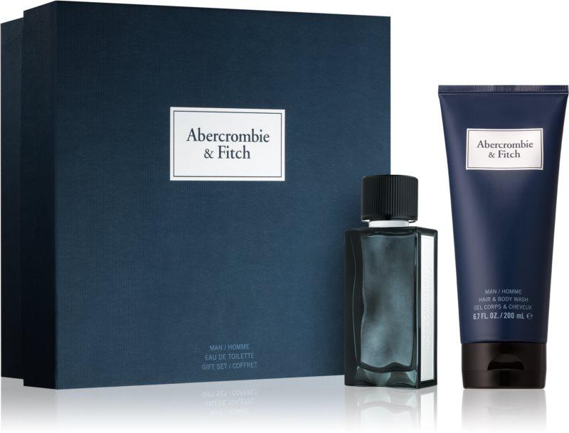 Abercrombie & Fitch First Instinct Blue darilni set I. (za moške)