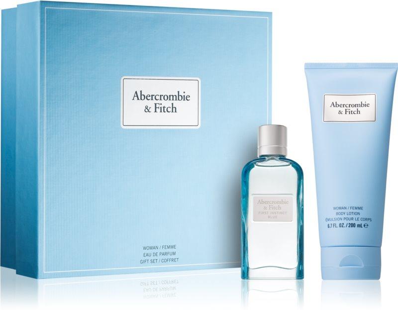 Abercrombie & Fitch First Instinct Blue Gift Set  III. (voor Vrouwen )