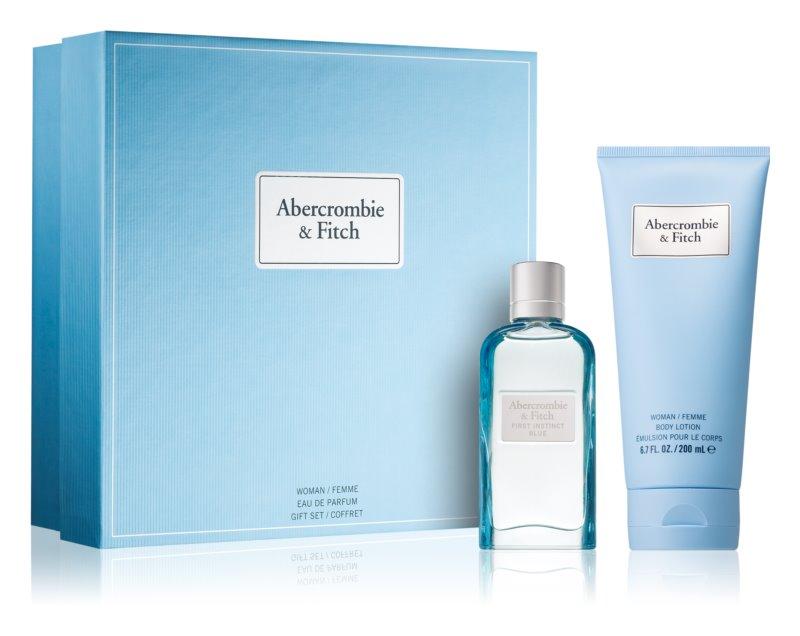 Abercrombie & Fitch First Instinct Blue set cadou III. (pentru femei)
