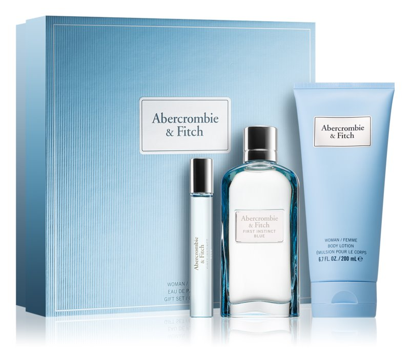 Abercrombie & Fitch First Instinct Blue poklon set II. (za žene)