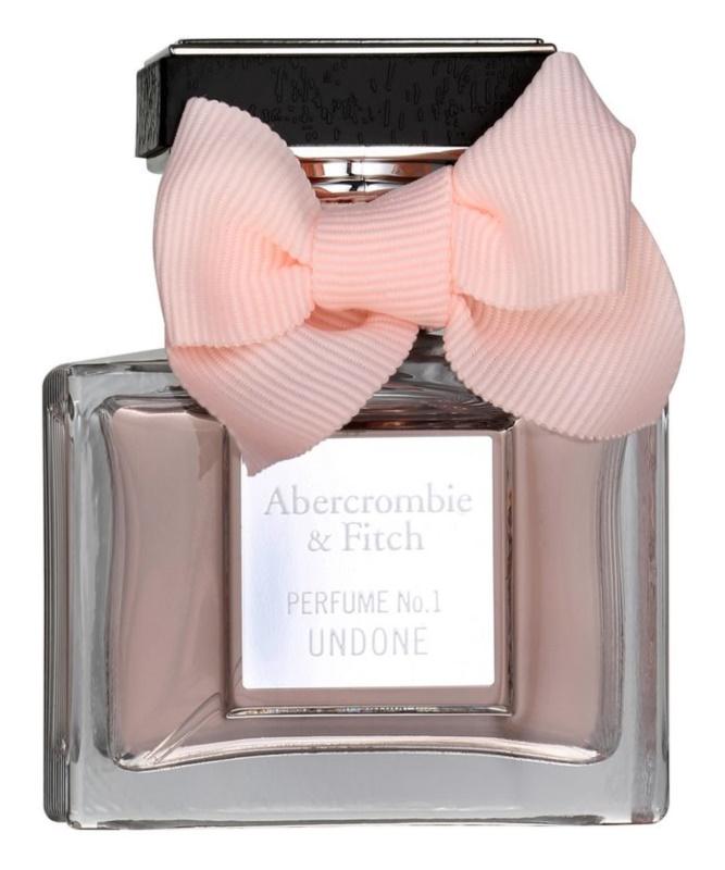 Abercrombie & Fitch Perfume No. 1 Undone eau de parfum per donna 50 ml