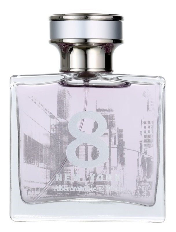Abercrombie & Fitch 8 New York eau de parfum per donna 50 ml