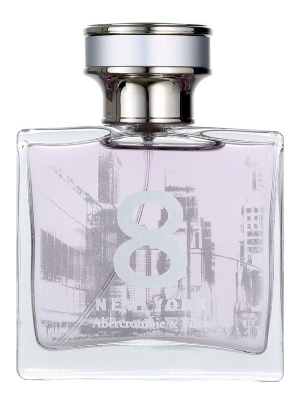 Abercrombie & Fitch 8 New York Parfumovaná voda pre ženy 50 ml