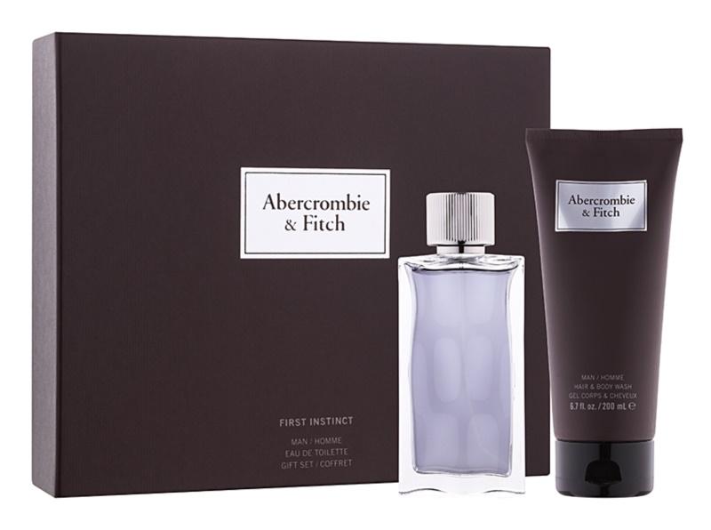 Abercrombie & Fitch First Instinct σετ δώρου Ι.