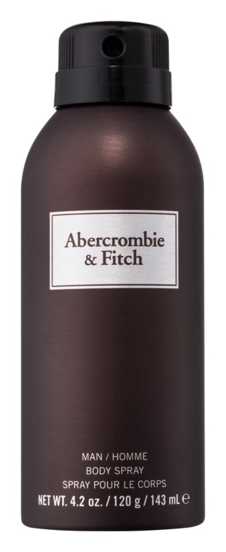 Abercrombie & Fitch First Instinct spray de corpo para homens 143 ml