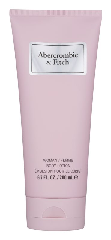 Abercrombie & Fitch First Instinct lotion corps pour femme 200 ml