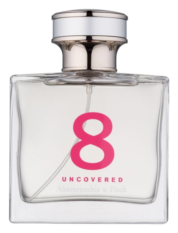 Abercrombie & Fitch 8 Uncovered Eau de Parfum para mulheres 50 ml