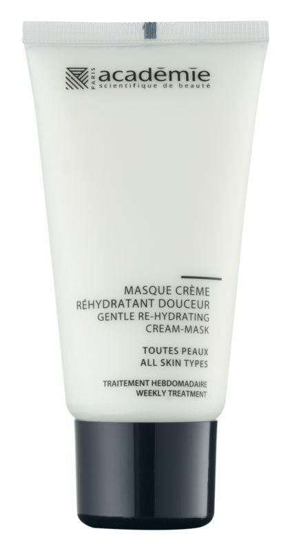 Academie All Skin Types gyengéd krémes maszk hidratáló hatással