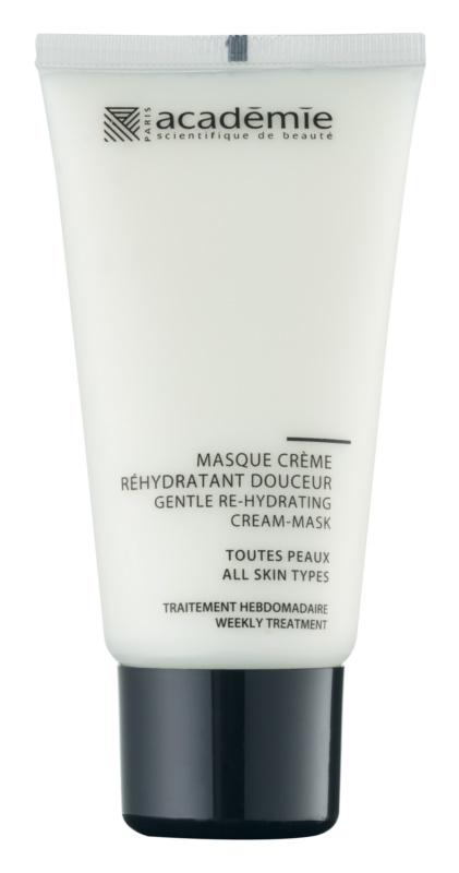 Académie All Skin Types masque crème doux effet hydratant