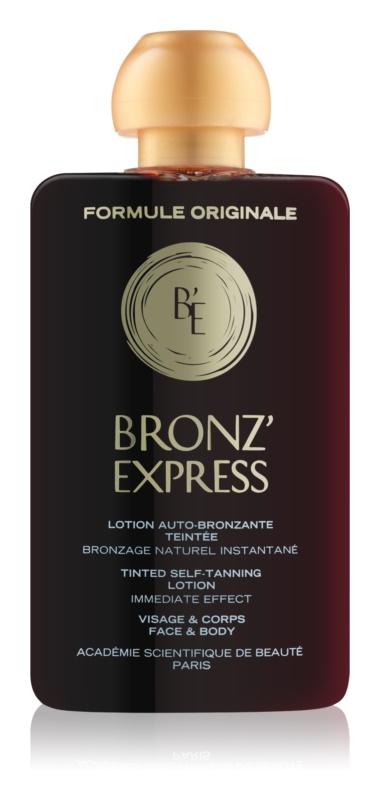 Academie Bronz' Express тонуючий лосьйон для обличчя та тіла