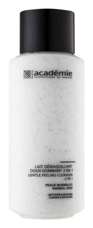 Académie Normal to Combination Skin lait nettoyant doux effet exfoliant 2 en 1