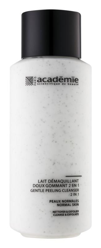 Academie Normal to Combination Skin Sanfte Reinigungsmilch mit Exfoliationswirkung 2 in 1