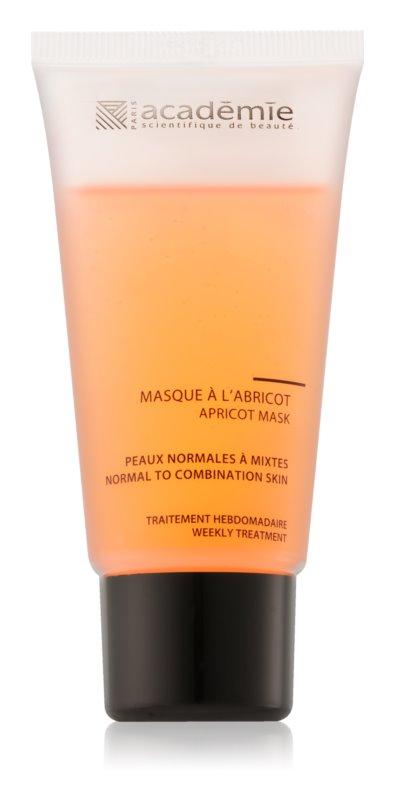Academie Normal to Combination Skin élénkítő sárgabarackos maszk normál és kombinált bőrre