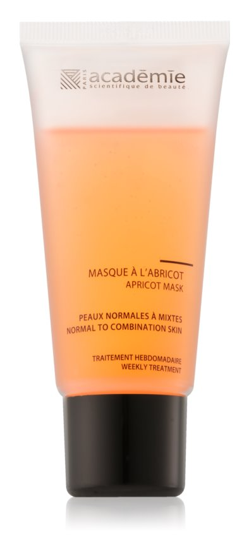Academie Normal to Combination Skin maschera rinfrescante all'albicocca per pelli normali e miste
