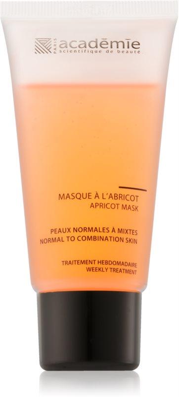 Academie Normal to Combination Skin δροσιστική μάσκα βερίκοκου για κανονική έως μικτή επιδερμίδα