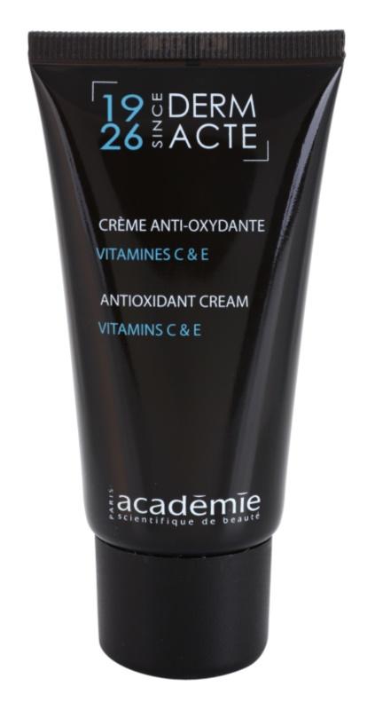 Academie Derm Acte Intense Age Recovery антиоксидантний денний крем проти старіння шкіри