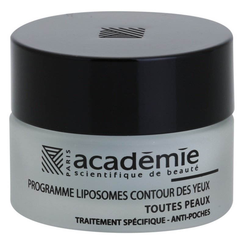 Académie All Skin Types gel lissant yeux anti-enflures