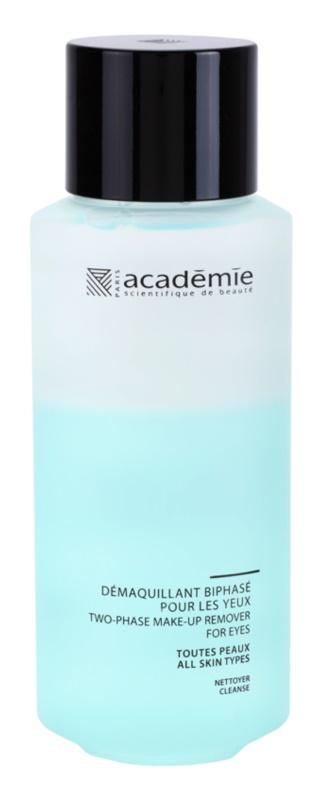 Academie All Skin Types Zwei-Phasen Make up - Entferner für die Augen