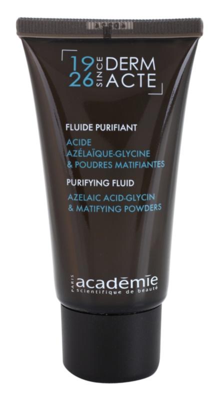 Academie Derm Acte Brillance&Imperfection очищуючий флюїд для шкіри з недоліками