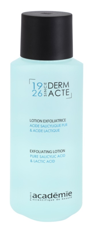 Académie Derm Acte Brillance&Imperfection lait nettoyant doux effet exfoliant