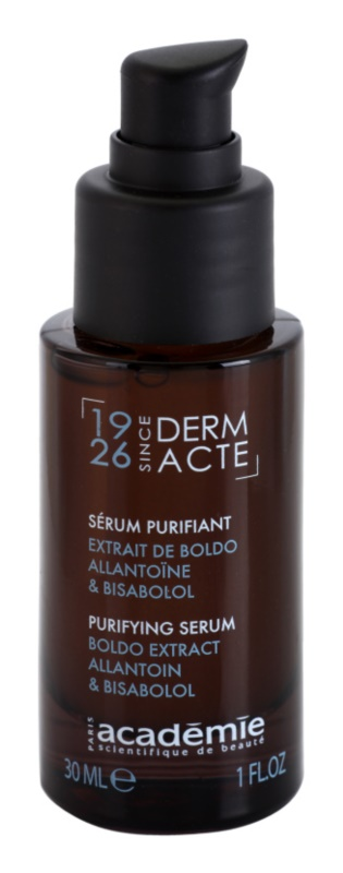Academie Derm Acte Brillance&Imperfection siero lenitivo contro gli arrossamenti
