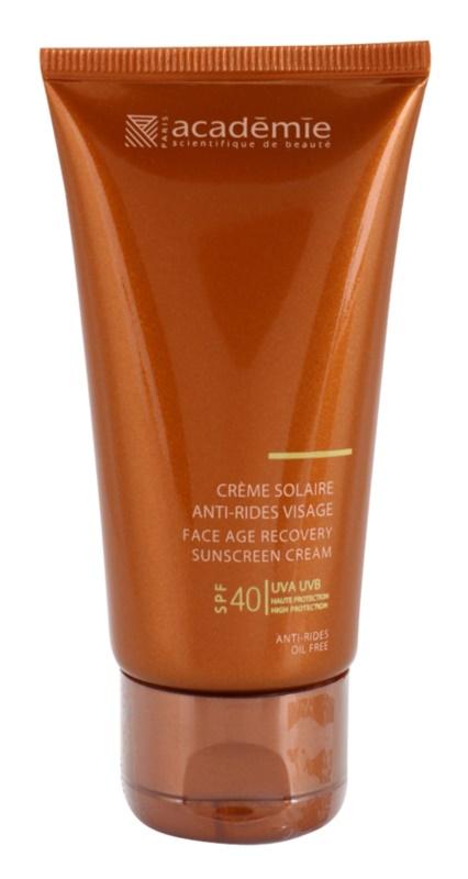 Academie Bronzécran krema za sončenje proti staranju kože SPF 40
