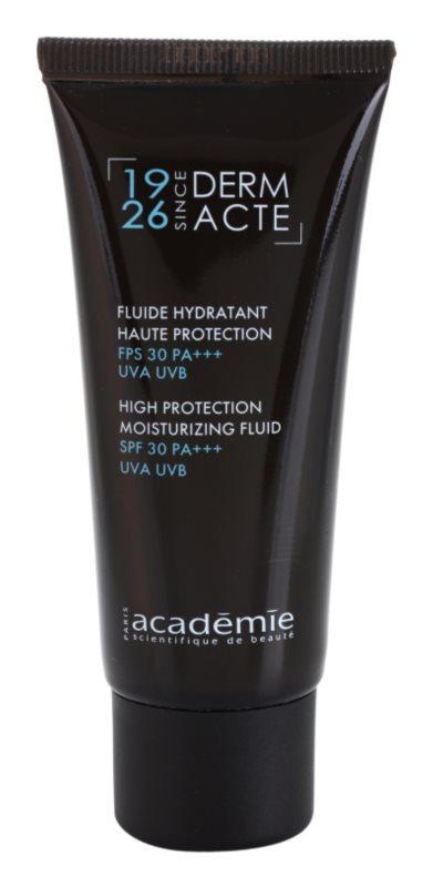 Académie Derm Acte Severe Dehydratation fluide hydratant protecteur SPF 30