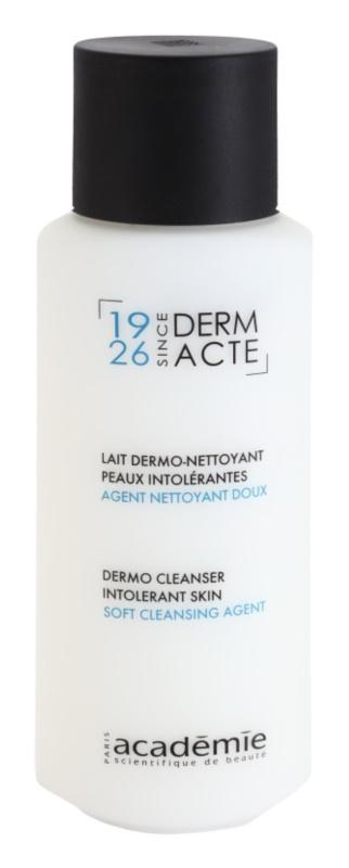 Academie Derm Acte Intolerant Skin delikatne mleczko oczyszczające do twarzy i okolic oczu