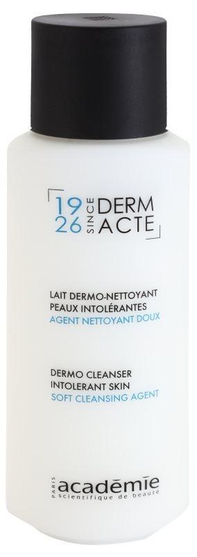 Academie Derm Acte Intolerant Skin Milde Reinigingsmelk  voor Gezicht en Ogen